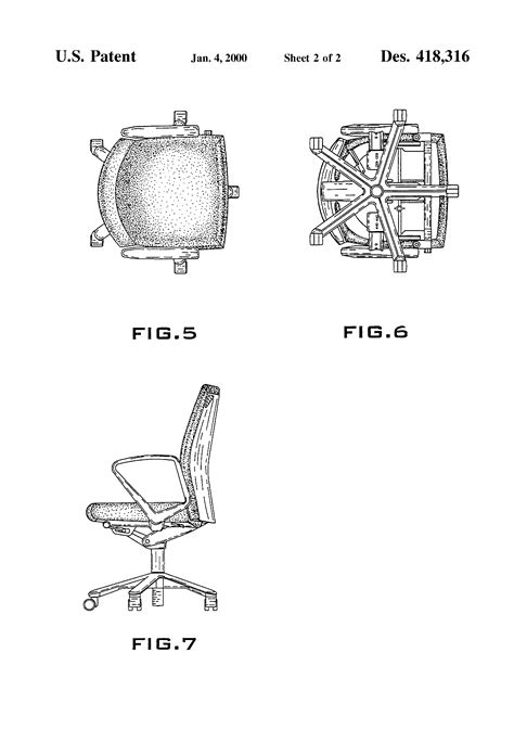 Office Chair Dimensions In Plan