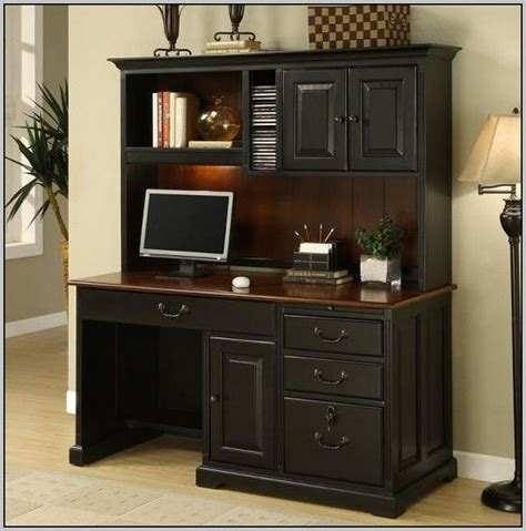 Office-Depot-Desk-With-Hutch