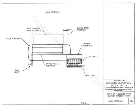 ☎ Offset Reverse Flow Smoker Plans | Make Woodworking