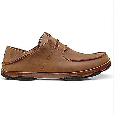 Ohana Lace-Up Nubuck Shoe - Men's Henna/Toffee 9.5