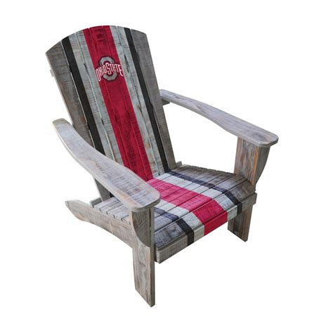 Ohio-State-Adirondack-Chair