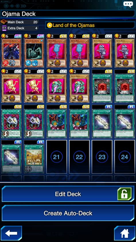 Ojama Deck Build Duel Links Characters