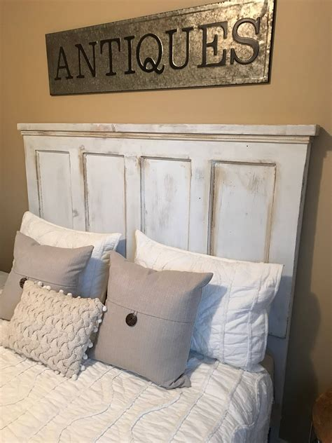 Old Door As Headboard Diy