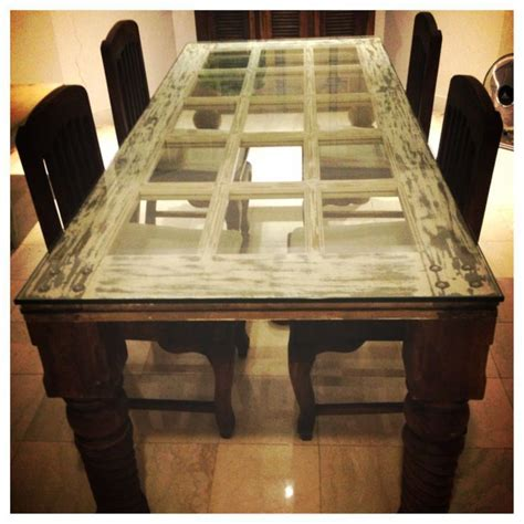 Old Door Table DIY