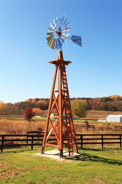 Old Fashioned Diy Wood Windmill