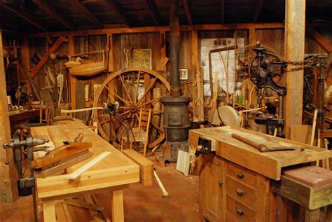 Old Fashioned Woodworking Shop Tours