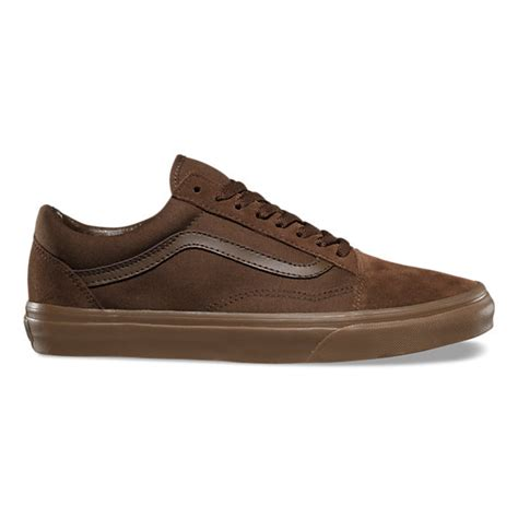Old Skool Suede Dark Earth/Gum Brown Unisex Shoes Men/Women (8.5 men/10.0 Women)