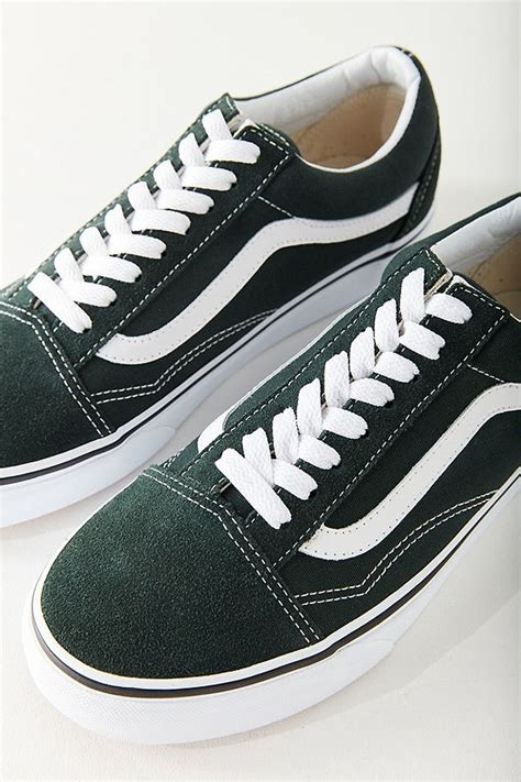 Old Skool Zip Womens Sneakers Green