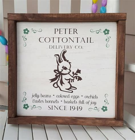 Old Wood Frame Diy Easter