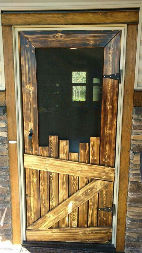Old Wood Screen Door Ideas