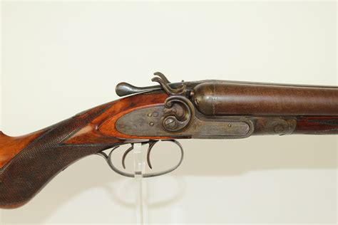 Old Double Barrel Shotgun With Royal In The Name And Remington Hammerless Double Barrel Shotgun