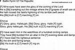 Old Time Battle Songs