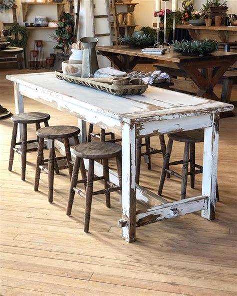 Old-Farmhouse-White-Kitchen-Table