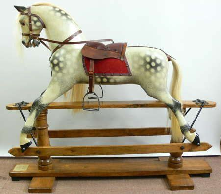 Old-Fashioned-Rocking-Horse-Plans