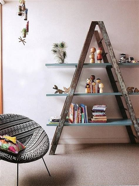 Old-Ladder-Shelf-Diy
