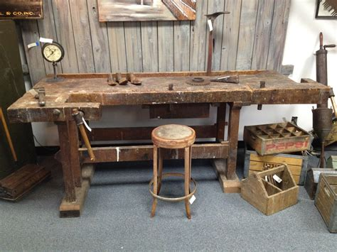 Old-Woodworking-Work-Bench