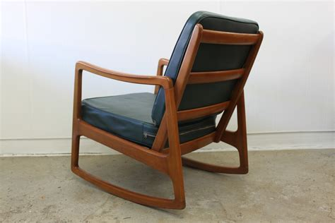 Ole Wanscher Rocking Chair For Sale