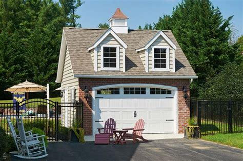 ☎ One Car Garage Plans With Shed Dormers Cost | Woodworking
