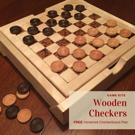 One Checker Board Woodworking Plans