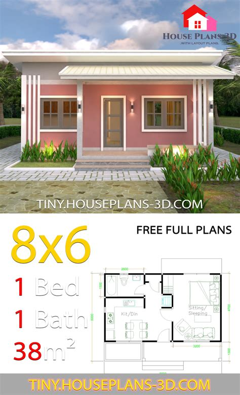 One Room Farmhouse Plans