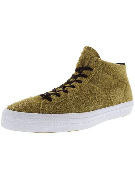 One Star Pro Suede Mid Mid-Top Fashion Sneaker