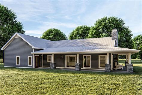 One Story Barn House Plans