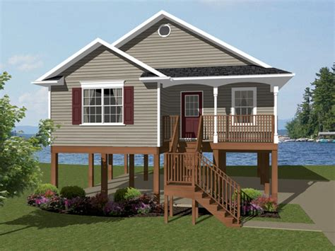 One Story Raised House Plans
