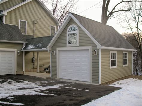One car garage with carport plans Image