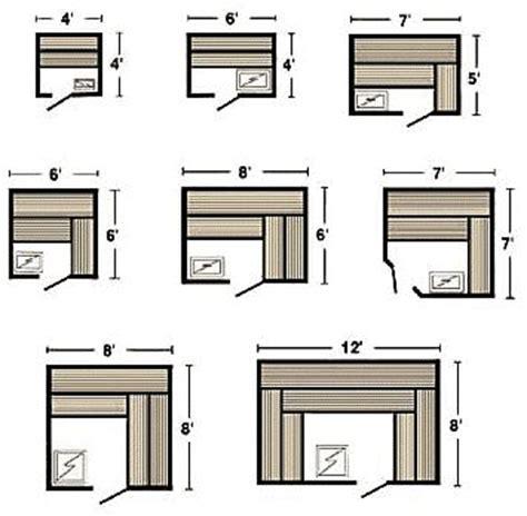 One-Person-Sauna-Plans