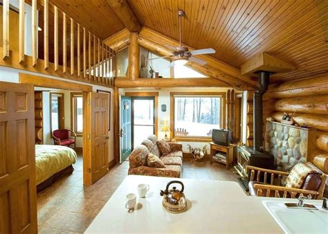 One-Room-Log-Cabin-Plans-With-Loft