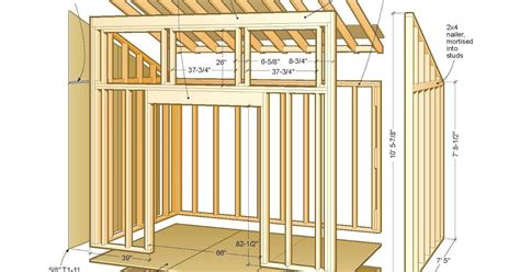 Online Plans For Flat Roof Shed