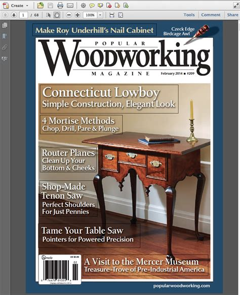Online Woodworking Magazine Free