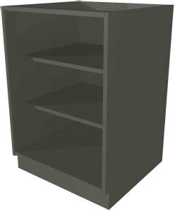 Open Base Cabinet With No Doors