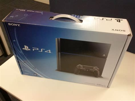 Open Box Playstation 4