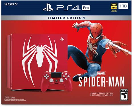 Open Box Playstation 4 Spider Man Bundle