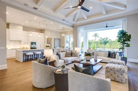 Open Concept One Floor House Plans