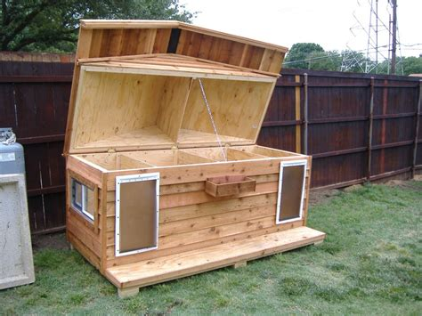 Open Dog House Plans DIY