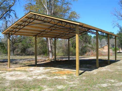 Open-Air-Pole-Barn-Plans