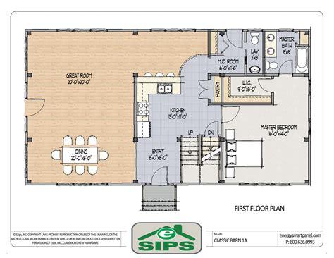 Open-Concept-Pole-Barn-House-Plans