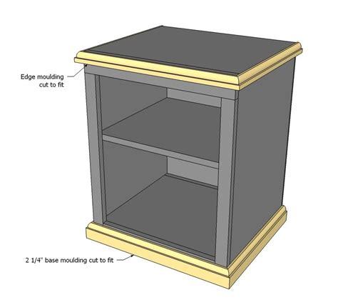 Open-Shelf-Nightstand-Plans
