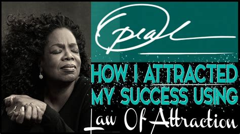 @ Oprah S Powerful Secret To Success Using The Law Of Attraction - Oprah Winfrey Show.