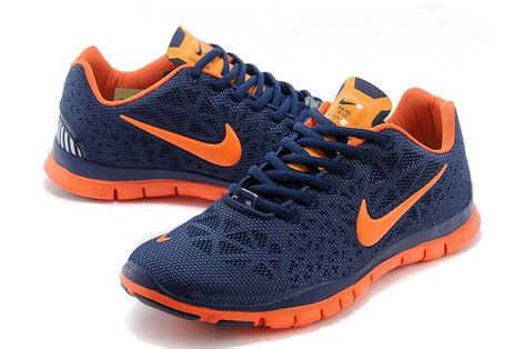 Orange And Blue Sneakers Nike
