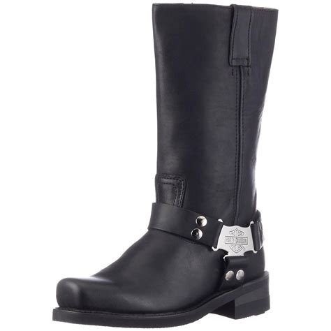 Original Black Leather Square-Toe Boot