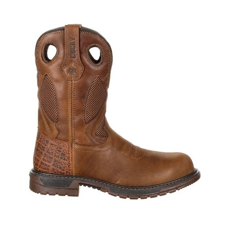 Original Ride Flex Steel Toe WP Western Boot