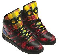 Originals ObyO JS Jeremy Scott Instinct Hi Plaid Tartan Q23667 Men's Shoes
