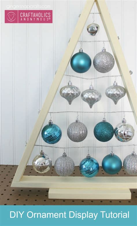 Ornament Display Stand DIY