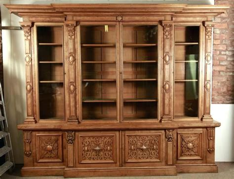 Ornate Bookcase Plans