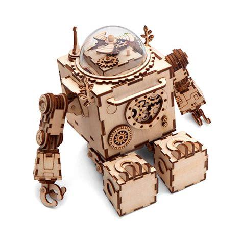 Orpheus-Robot-Diy-Music-Box-Kit