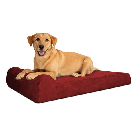 Orthopedic Dog Bed With Headrest