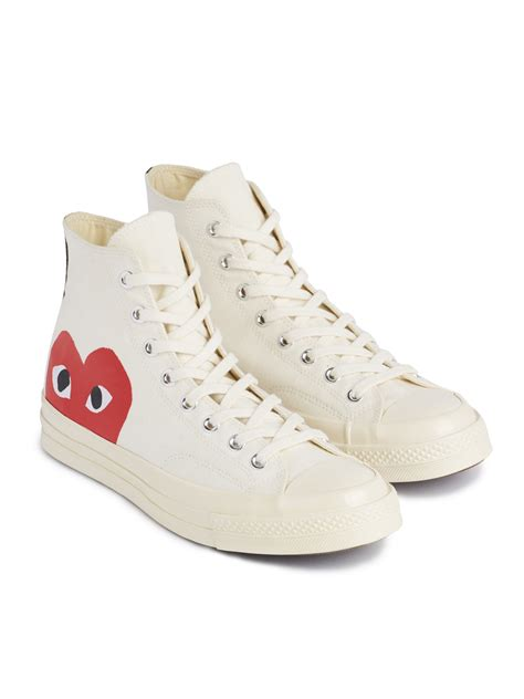 Otton Converse Chuck Taylor Sneakers From Comme Des Gar�ons Play